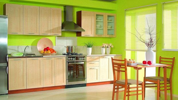 Зелена свежест в кухнята