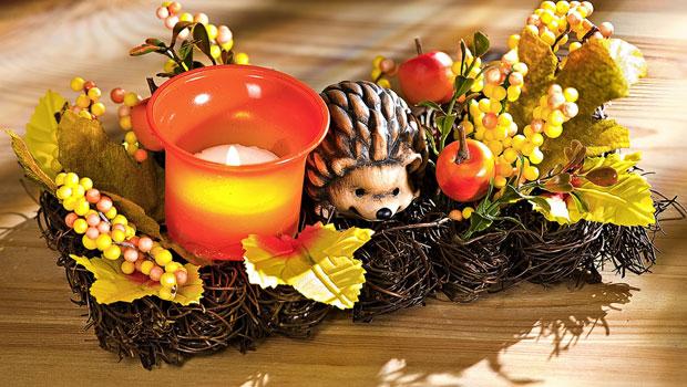Идеи за есенна украса на масата
