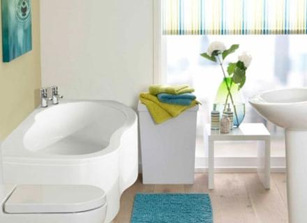 Как да декорираме и подредим малката баня?