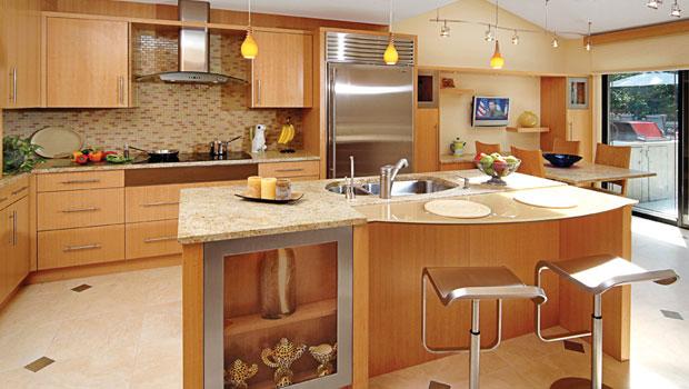 Кухненски остров - удобното решение