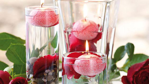 Лесни и уникално красиви декорации с плаващи свещи