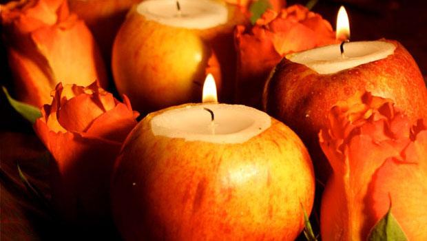 Идеи за украса с ябълки