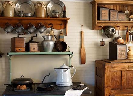 Идеи за кухня в ретро стил