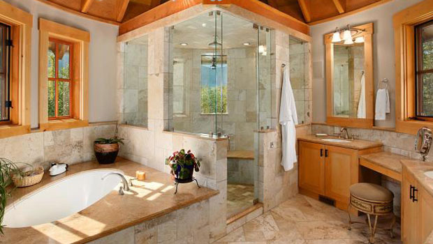 Уникални рустик бани