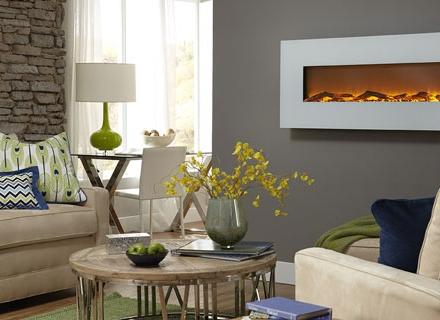 Модерен дизайн с декоративни камини