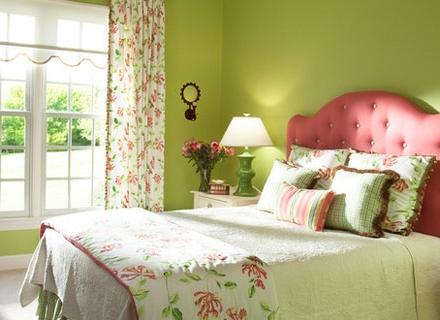 Как да изберем цветове за спалнята