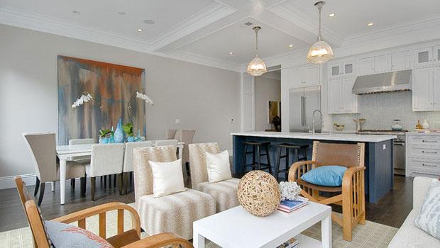 Съчетаване на хола с кухнята