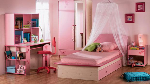 Розово - лилави детски стаи за принцеси