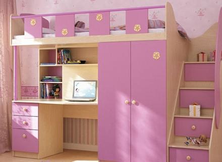 Розово - лилави детски стаи за принцеси - 2 - ра част