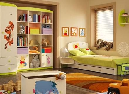 Мечо Пух и Прасчо - приятели в детската стая
