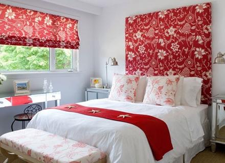 Огнено червено в спалнята