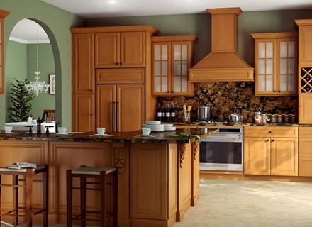 Кухни от дърво - красиви и функционални