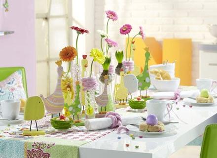 Пролетна декорация на дома