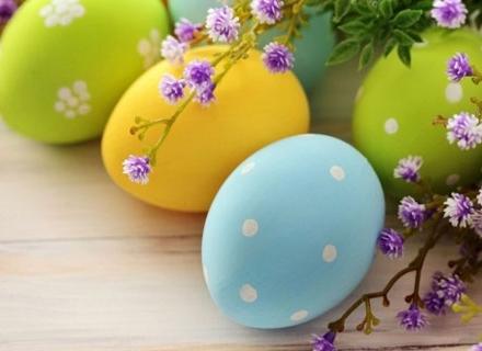 Да боядисаме яйцата за Великден с природни продукти
