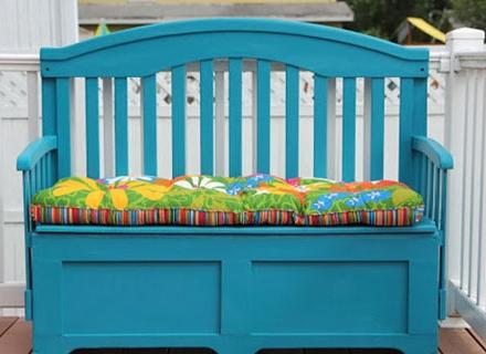 Практични идеи за старото детско креватче