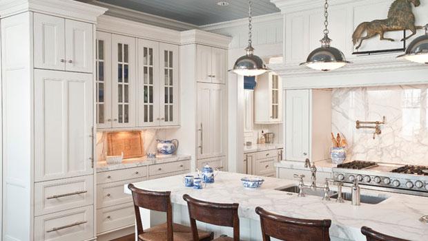 Мрамор в кухнята