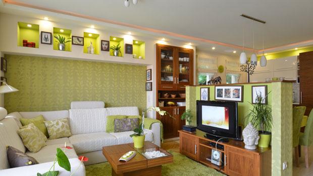 Свеж апартамент в пролетно зелено