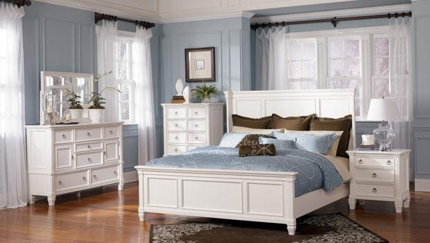 Спални в синьо