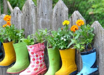 Идеи за декорация на градинската ограда