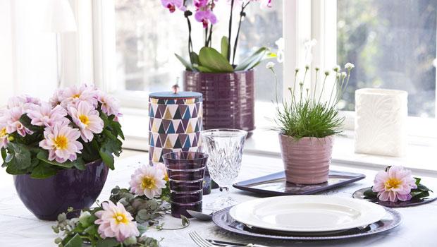 Да украсим масата в духа на лятото