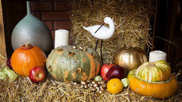 Есенна украса с тикви