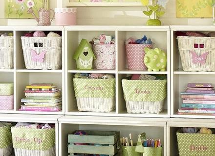 Идеи за съхранение в детската стая