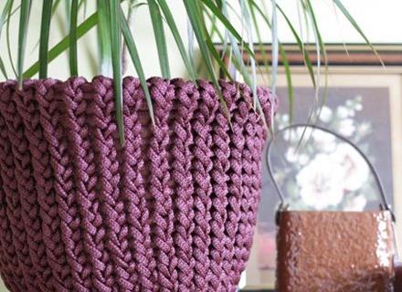 Интересни плетива за дома