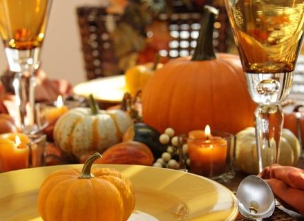 Есенна декорация за масата