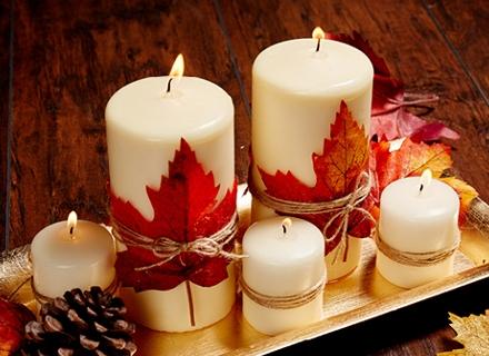 Да си направим лесна есенна декорация