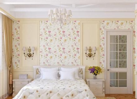 Романтични спални в стил Прованс