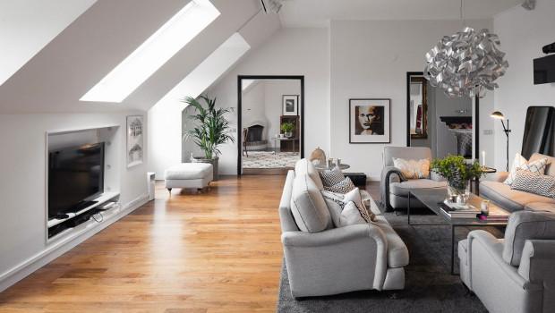 Стилен апартамент в Стокхолм