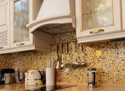Идеи с мозайка в кухнята