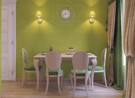 Романтичен интериор в шаби шик стил