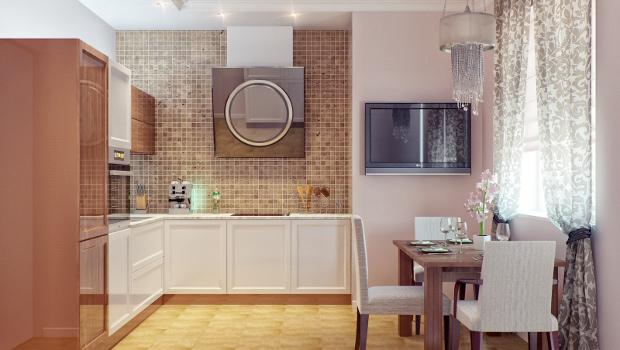 Идеи за обединение на кухнята с трапезарията