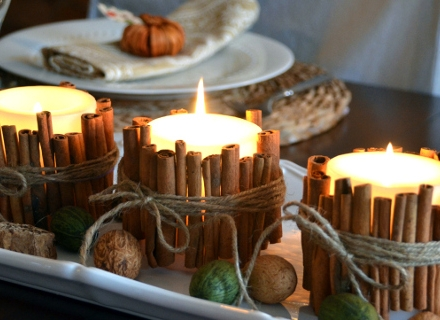 """Да си направим """"канелени свещи"""" за Коледа"""