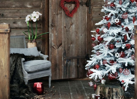 Коледни идеи за балкона и верандата