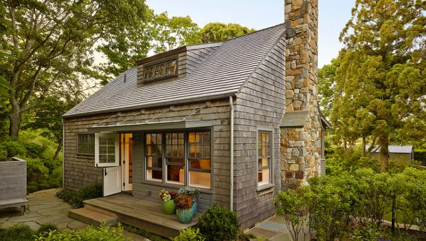 Малка и модерна ваканционна къща