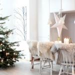 Коледна украса в скандинавски стил