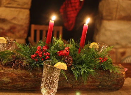 Рустик декорация на празничната трапеза