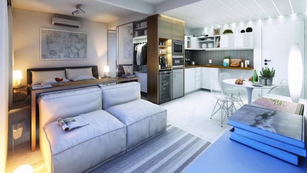 Дизайн на малко жилище - 30 кв.м.