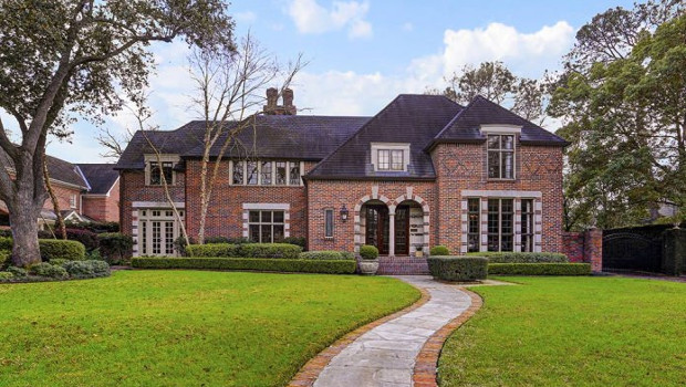 Къщи с тухлена фасада
