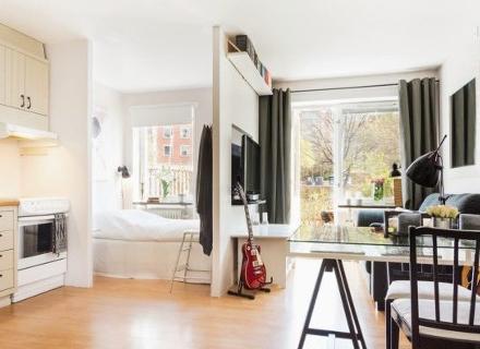 Практичен дизайн на слънчев апартамент