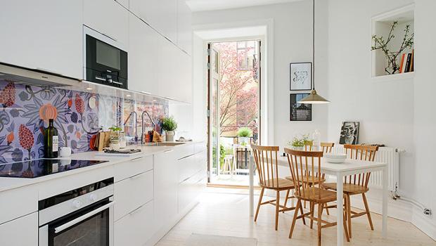 Кухни в скандинавски стил