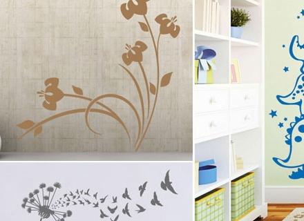 Нов облик на дома с декоративни стикери