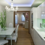 Зеленият цвят в кухнята - как да го използваме