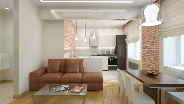 Интериорен проект на жилище - 57 кв.м.
