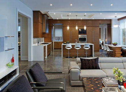 Идеи за осветление в кухнята