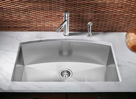 От какъв материал да бъде мивката в кухнята