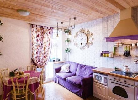 Малко жилище в стил Прованс