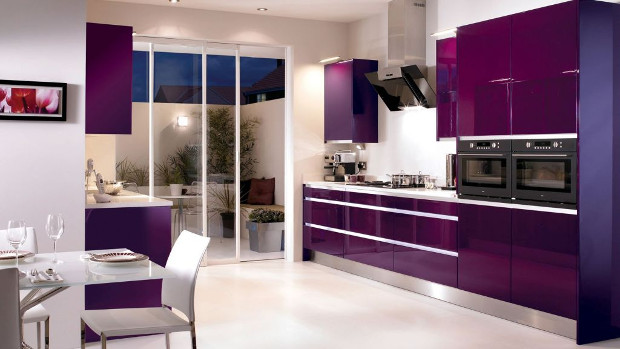 Как да използваме лилавият цвят в кухнята